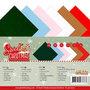 Yvonne Creations Linnenkarton Vierkant YC-4K-10017 Sweet Christmas
